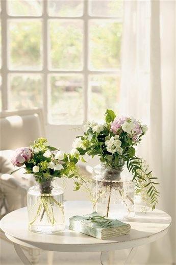 Flores para boda en el campo