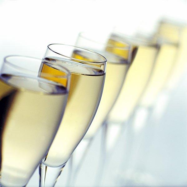 Brindis champagne