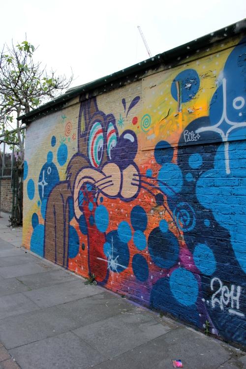 El arte callejero de Bricklane