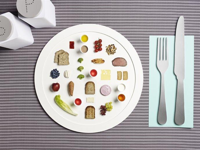 La comida de los atletas olímpicos