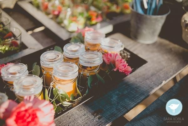 Boda-tipo-cóctel-Salmorejo-andaluz-virutas-jamón-Armiñan-Catering
