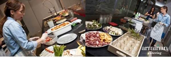 Catering-para-una-fiesta-sorpresa-Detalles-cocina-Armiñan-Catering. Catering Madrid