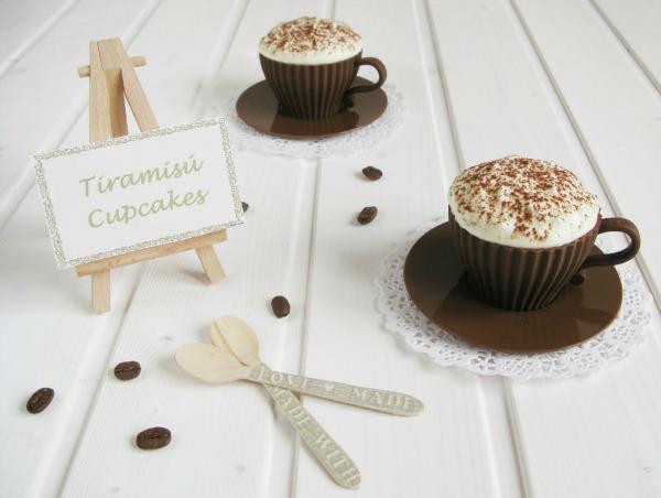 Cupcakes de tiramisu