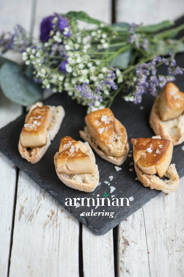 Fotos-armiñan-catering. Foie