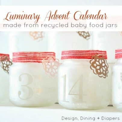 Ideas DIY para Navidad-Calendario Adviento by Design, Dining and Diapers