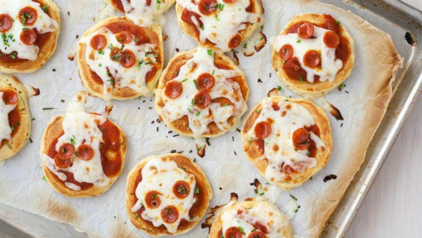 Mini-pizza-pancakes