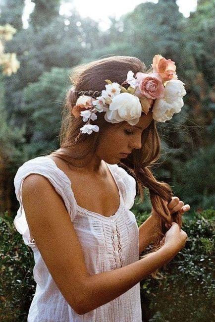 Coronas de flores estilo Armiñan catering