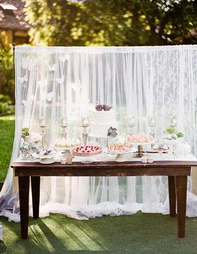 Una boda en el jardín