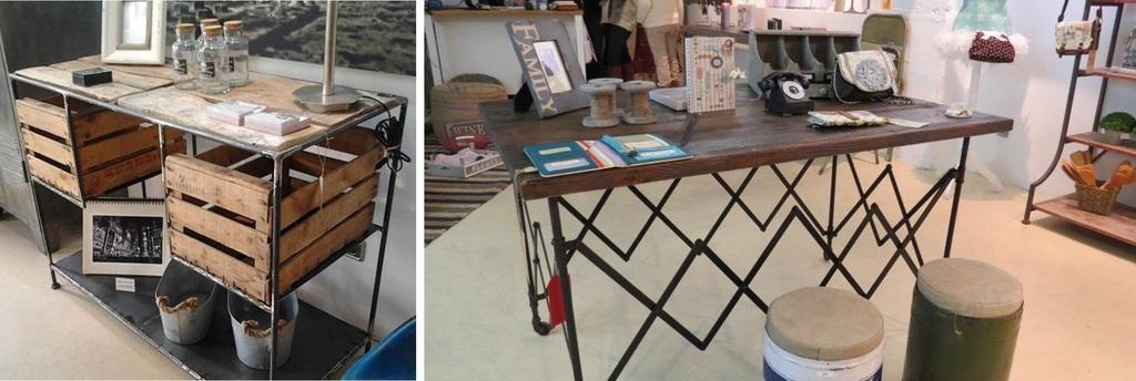 muebles estilo industrial estacin victoria - Muebles Estilo Industrial